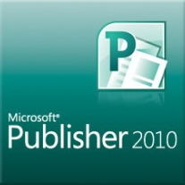 Logo Microsoft Publisher 2010